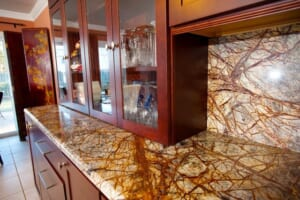Đá Forest marble ốp bếp 7