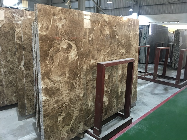 Đá marble nâu nhạt 3