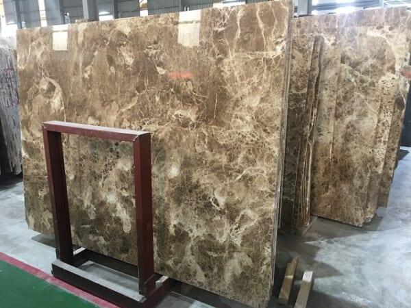 Đá marble nâu nhạt 4