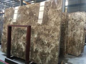 Đá marble nâu nhạt 5