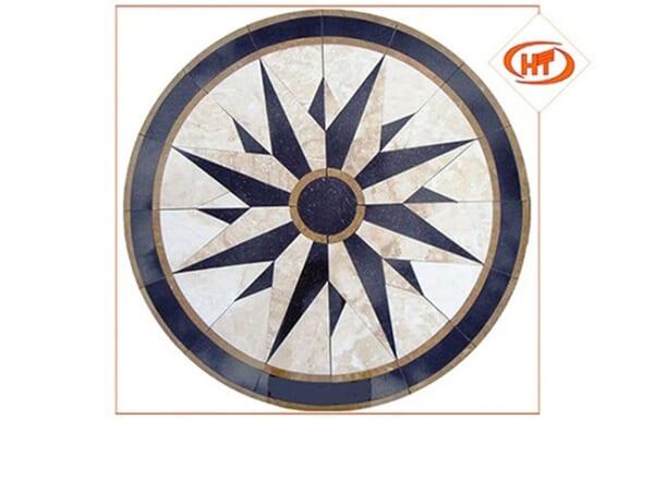 đá hoa văn tròn 13