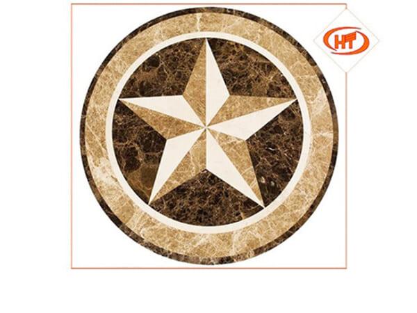 đá hoa văn tròn 14