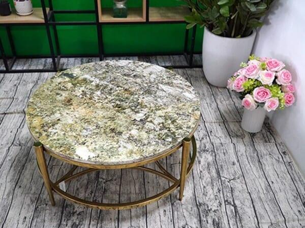 Mặt bàn trà Đá Kamarica ĐK 800 2