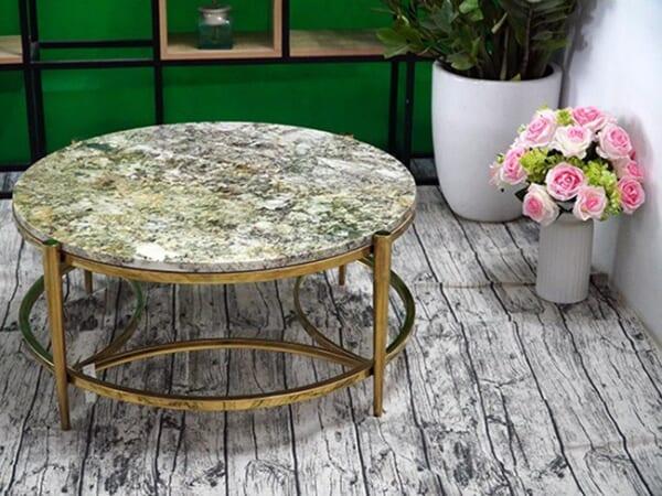 Mặt bàn trà Đá Kamarica ĐK 800 5