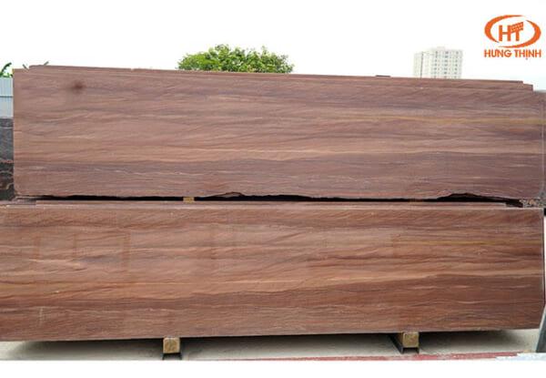 Đá Dark Brown Wood 2