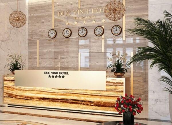 ốp đá tự nhiên khách sạn đức vinh 1