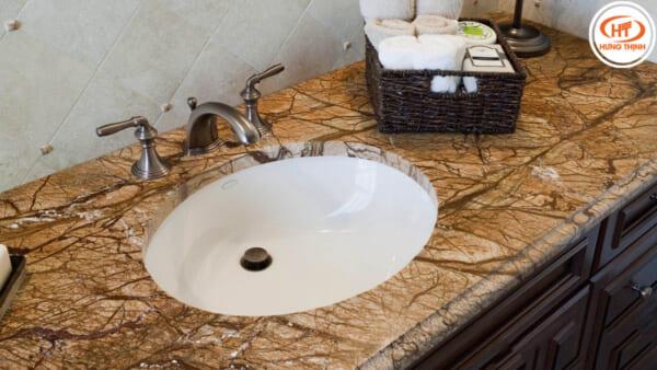 bàn lavabo đá forest marble