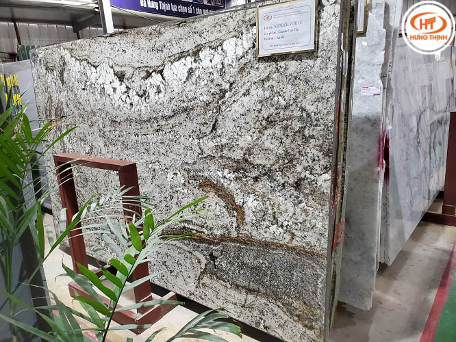 Đá Granite Kamzih White 4