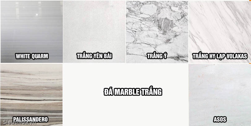 marbble trắng