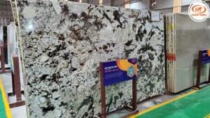 Đá Granite Branco Panda 2