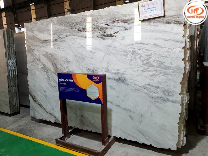 Đá Granite Branco White 4