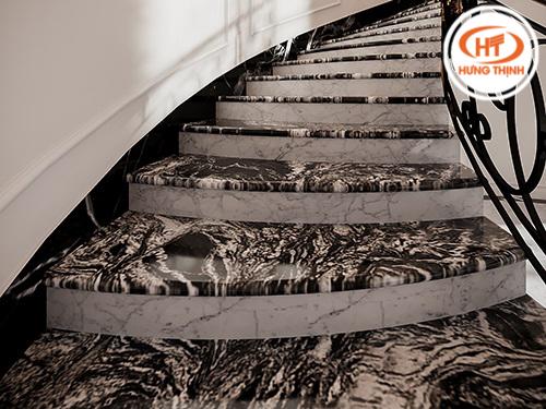 Đá ốp cầu thang 8