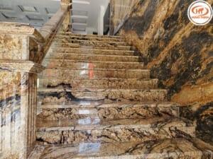Golden Ocean ốp cầu thang 2